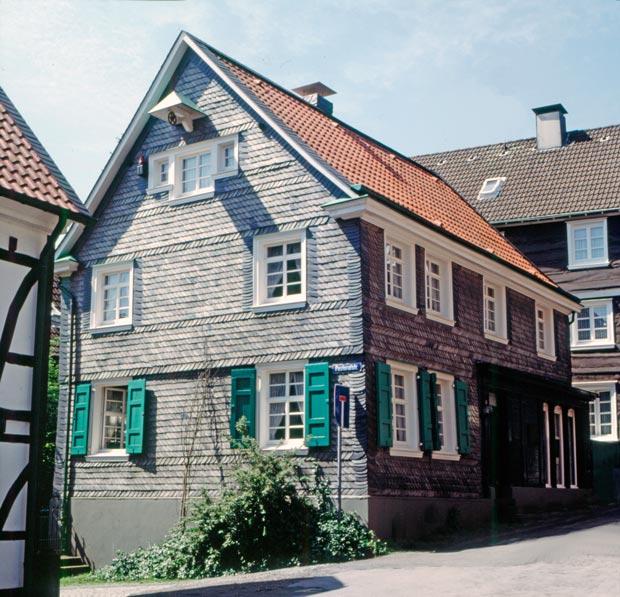 Ansicht des Geburtshaus von Konrad Röntgen