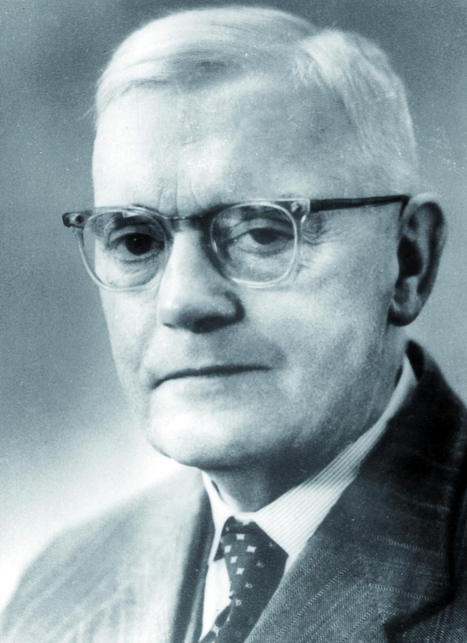 Portraitfoto von Herrn Hendrik Willem Stenvers.