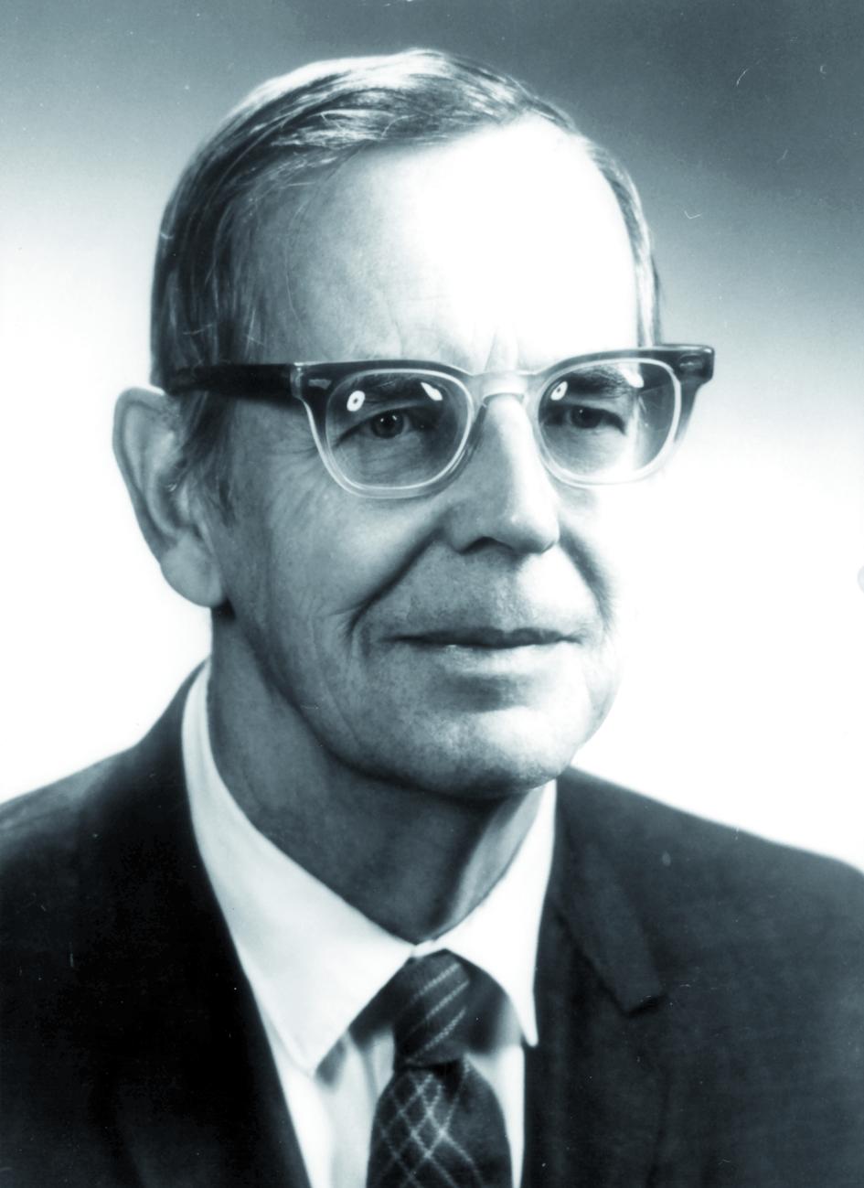 Portraitfoto von Herrn William L. Russell.