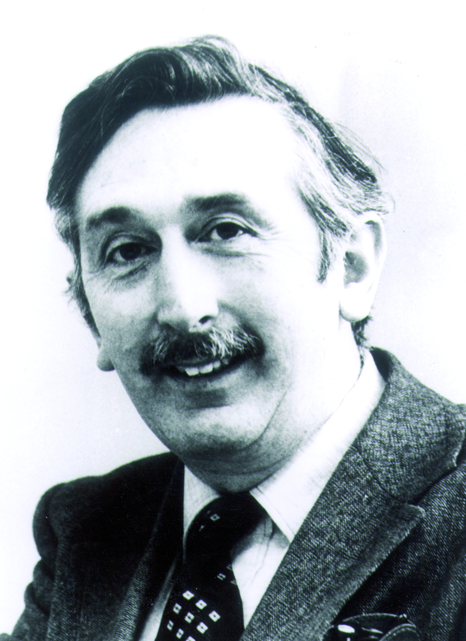 Portraitfoto von Herrn Sir Godfrey Newbold Hounsfield.
