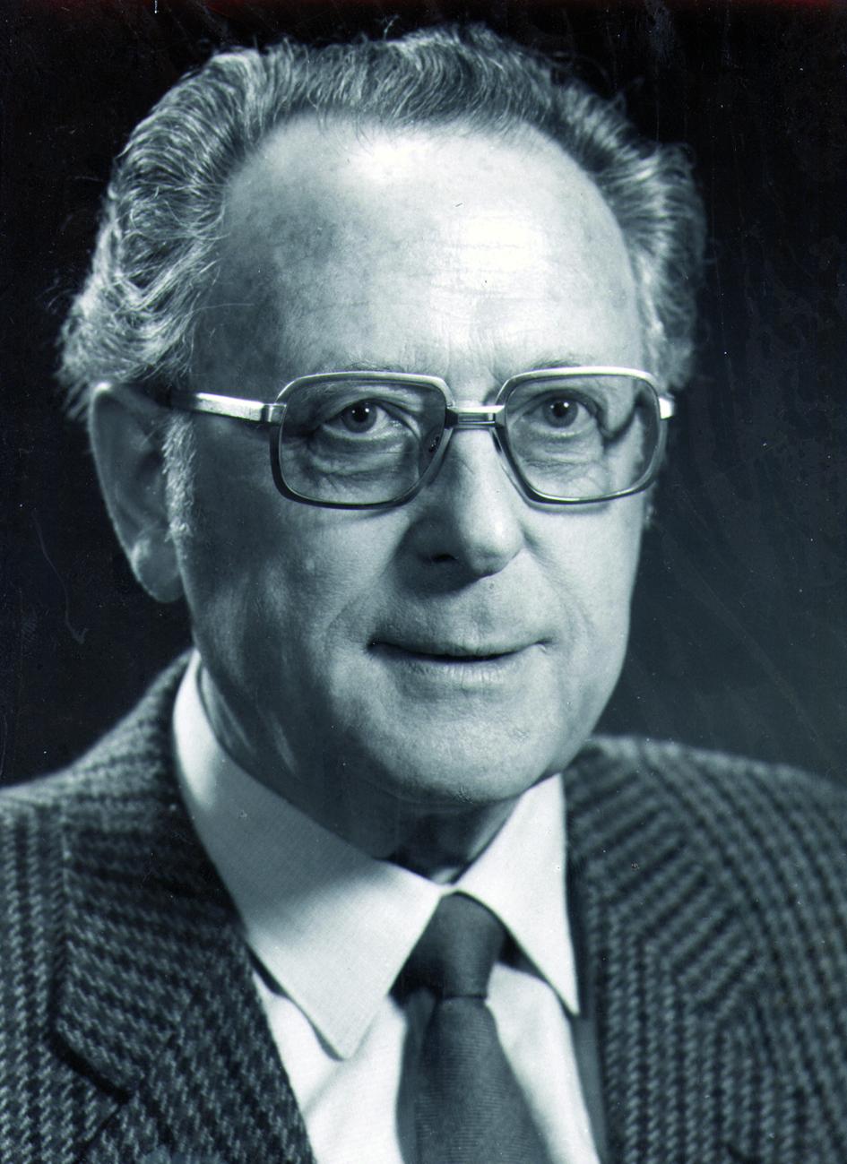 Portraitfoto von Herrn Hermann Muth.