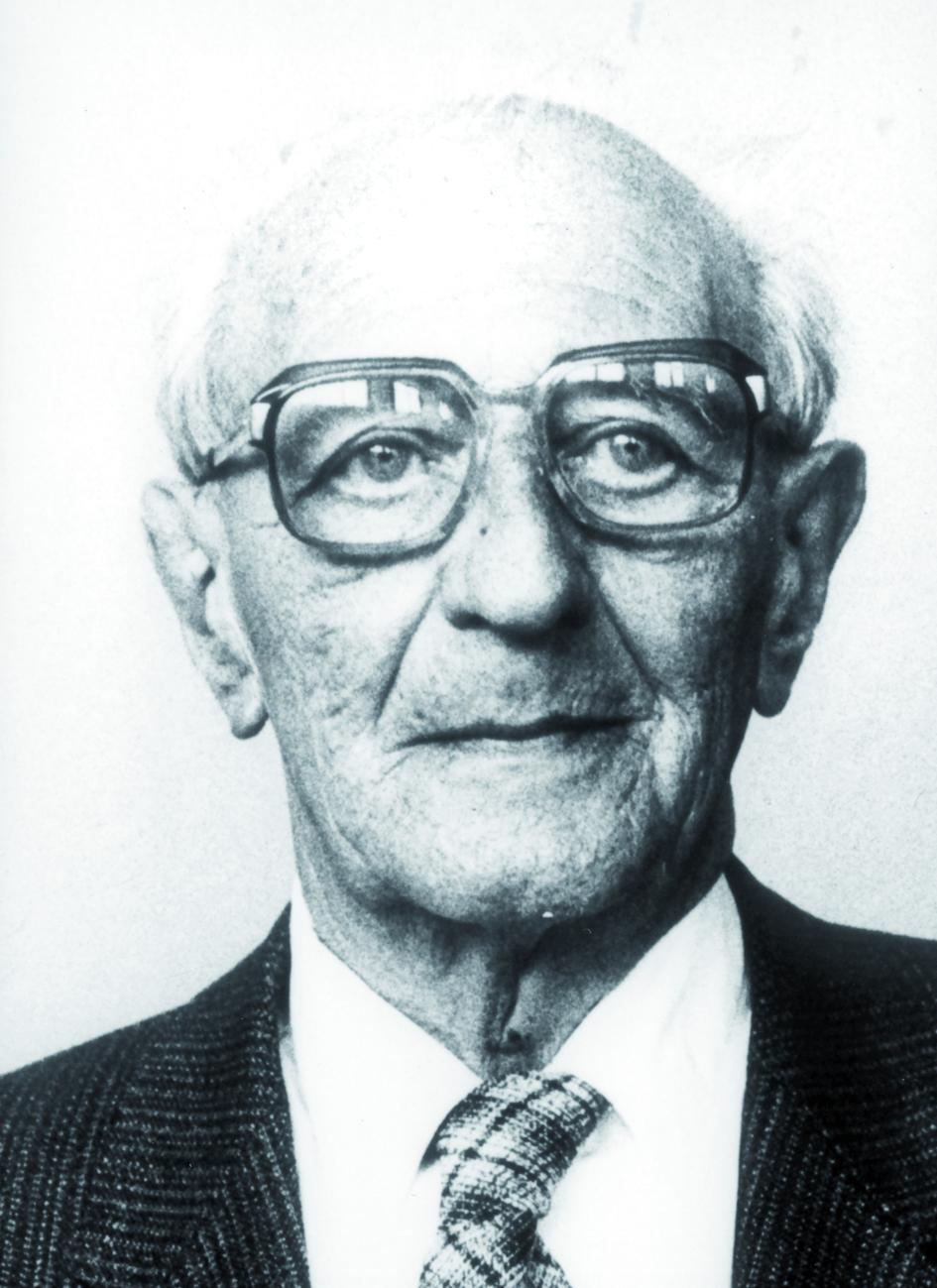 Portraitfoto von Herrn Otto Vaupel.