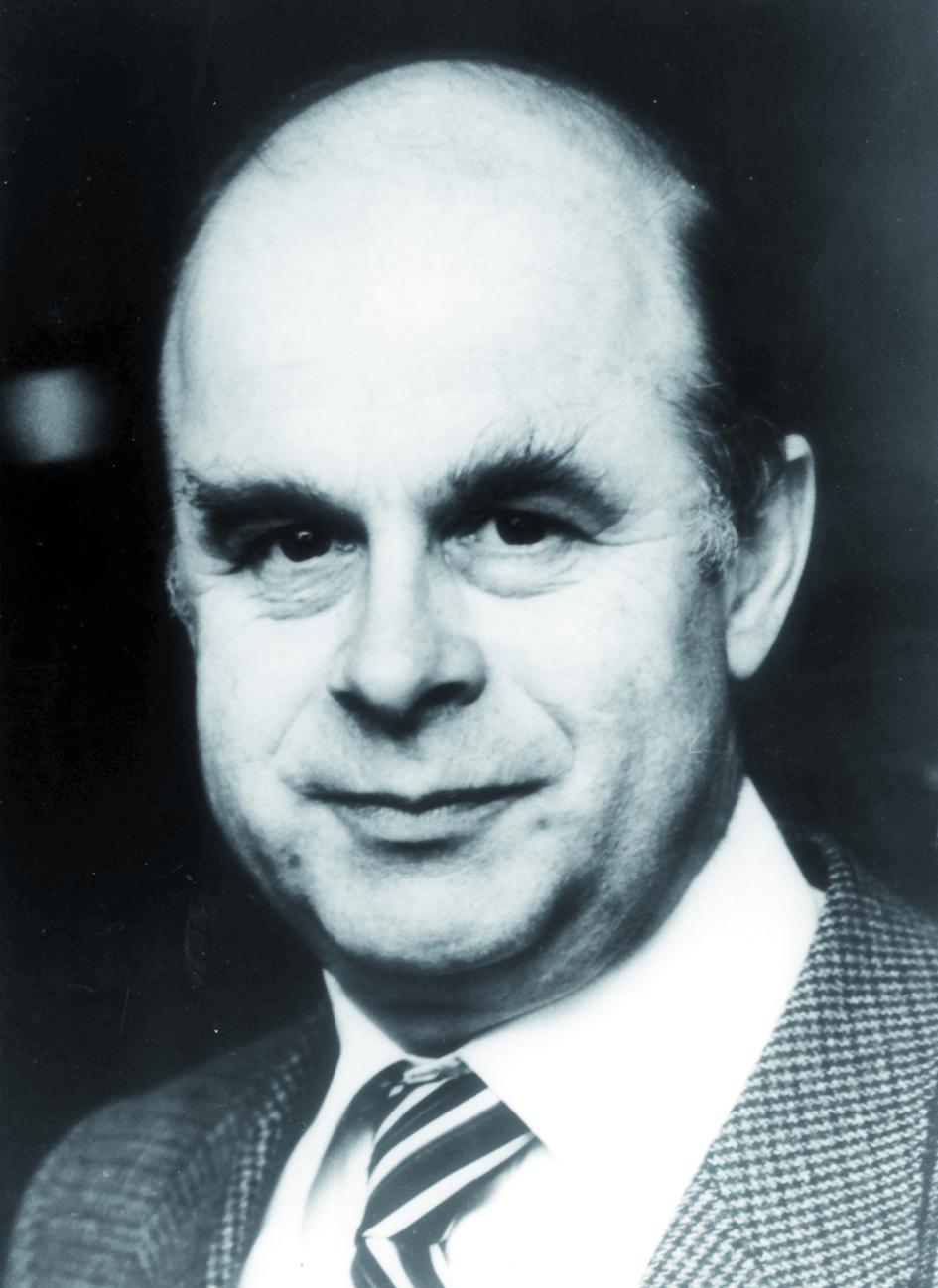 Portraitfoto von Herrn Christian Streffer.