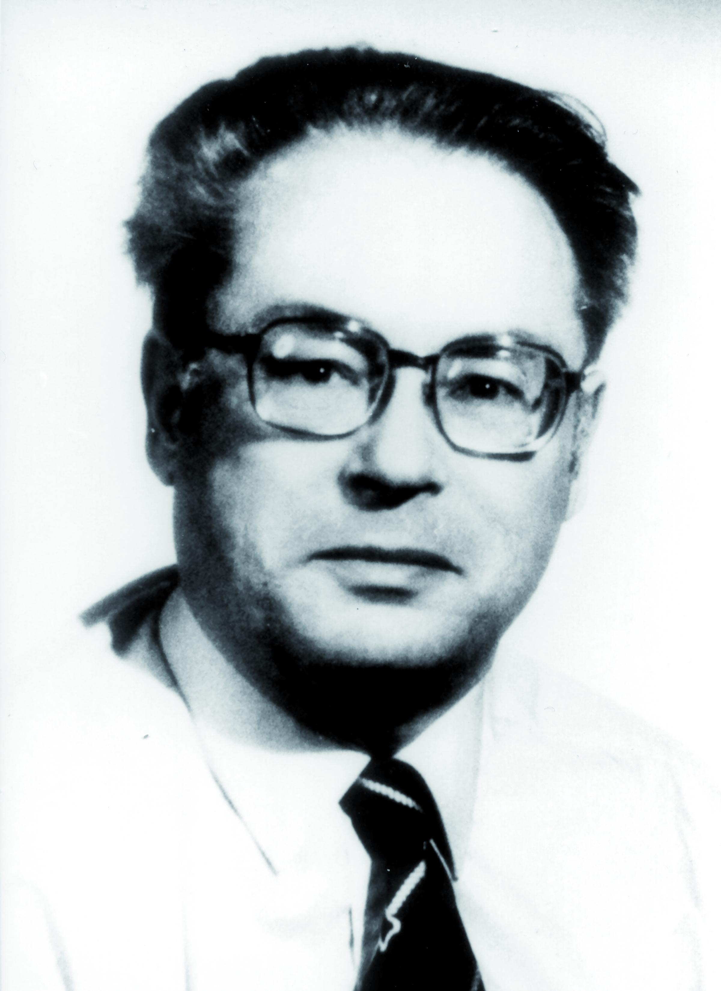 Portraitfoto von Herrn Daniel Blanc.