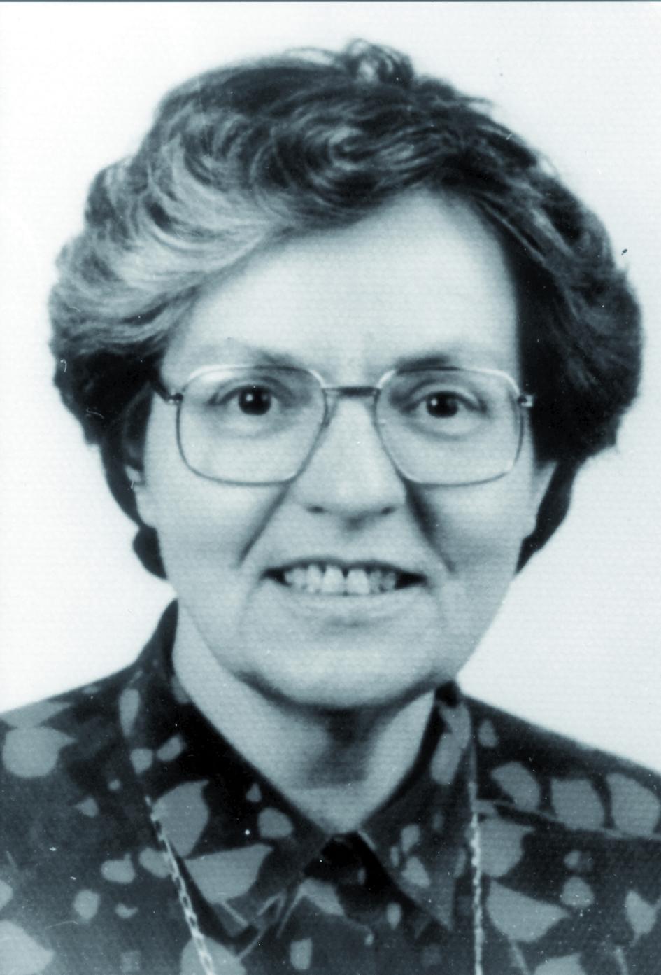 Portraitfoto von Frau Andrée Dutreix.