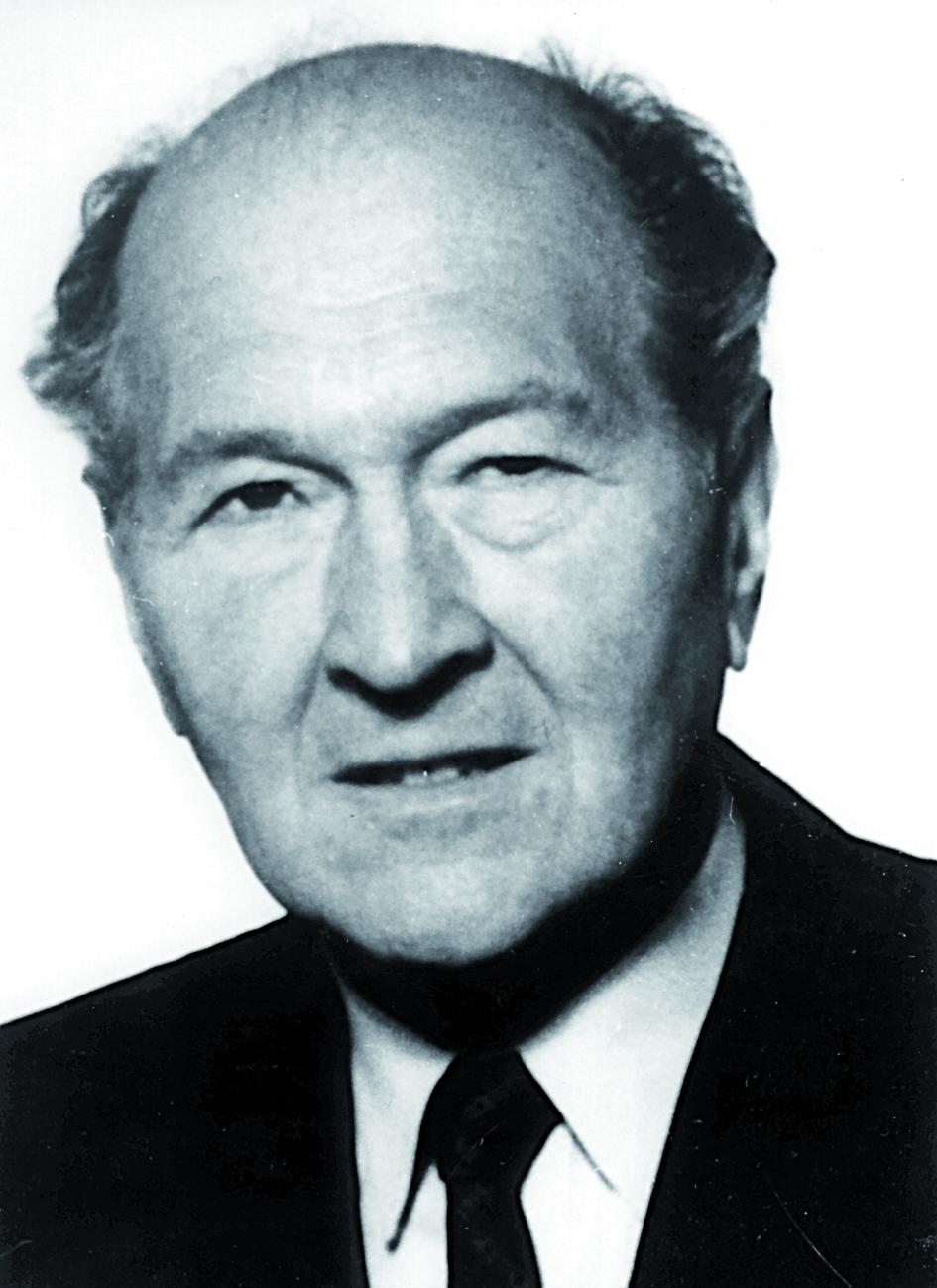 Portraitfoto von Herrn Viktor Hauk.