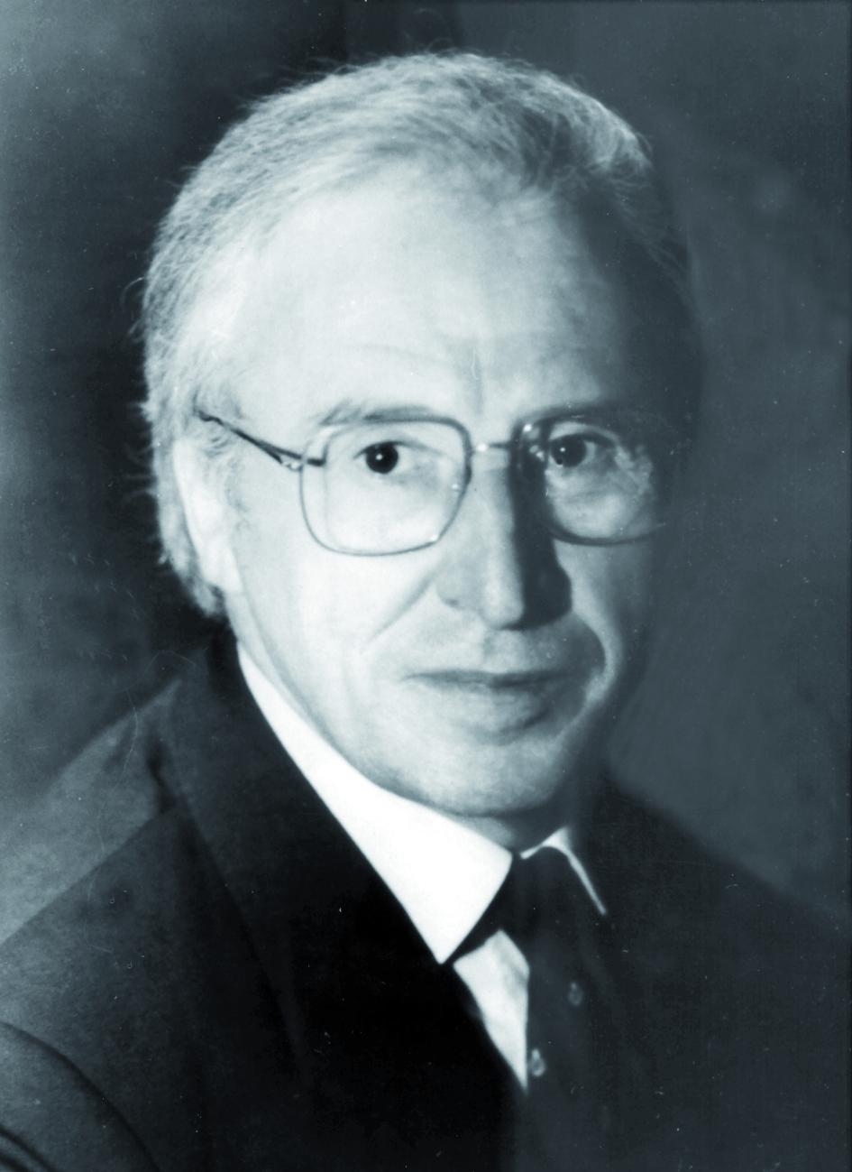 Portraitfoto von Herrn Eckehard Macherauch.