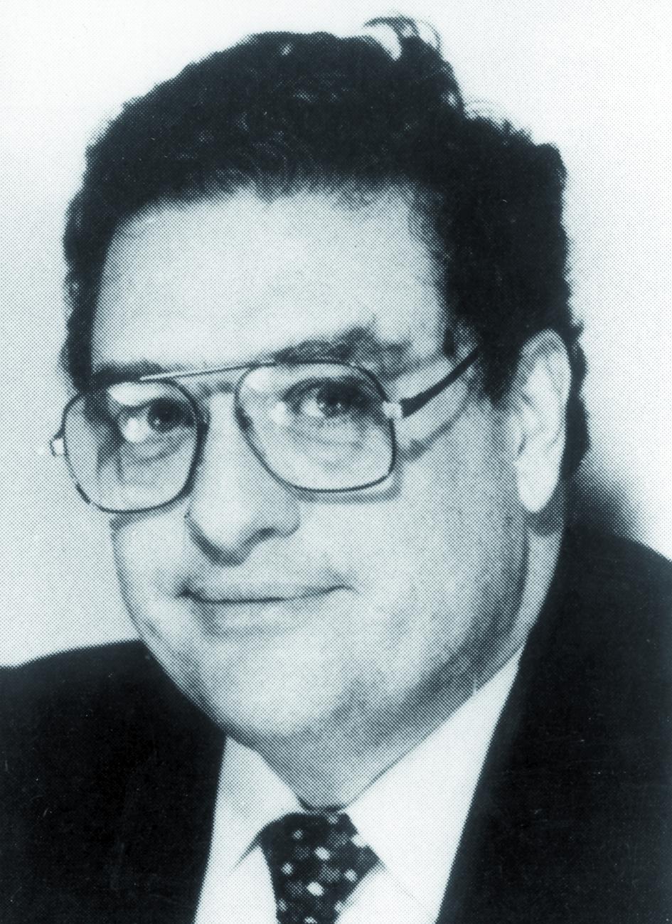 Portraitfoto von Herrn Arthur Scharmann.