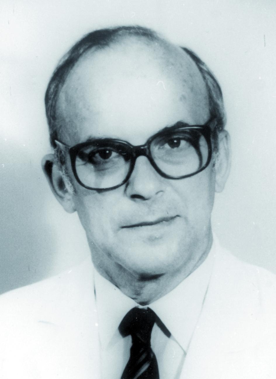 Portraitfoto von Herrn André Wambersie.