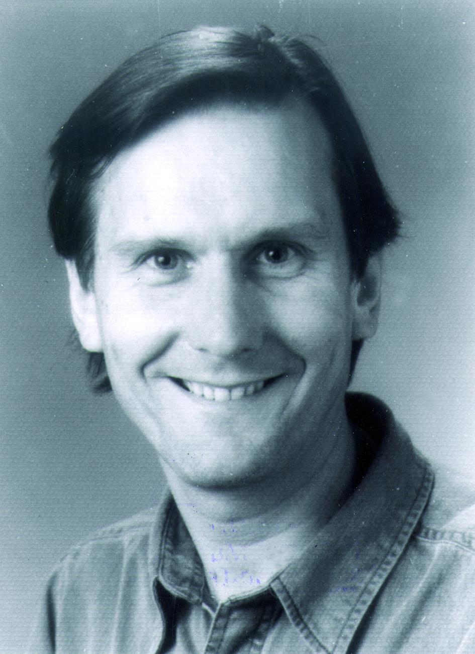 Portraitfoto von Herrn Geoffrey Harding.