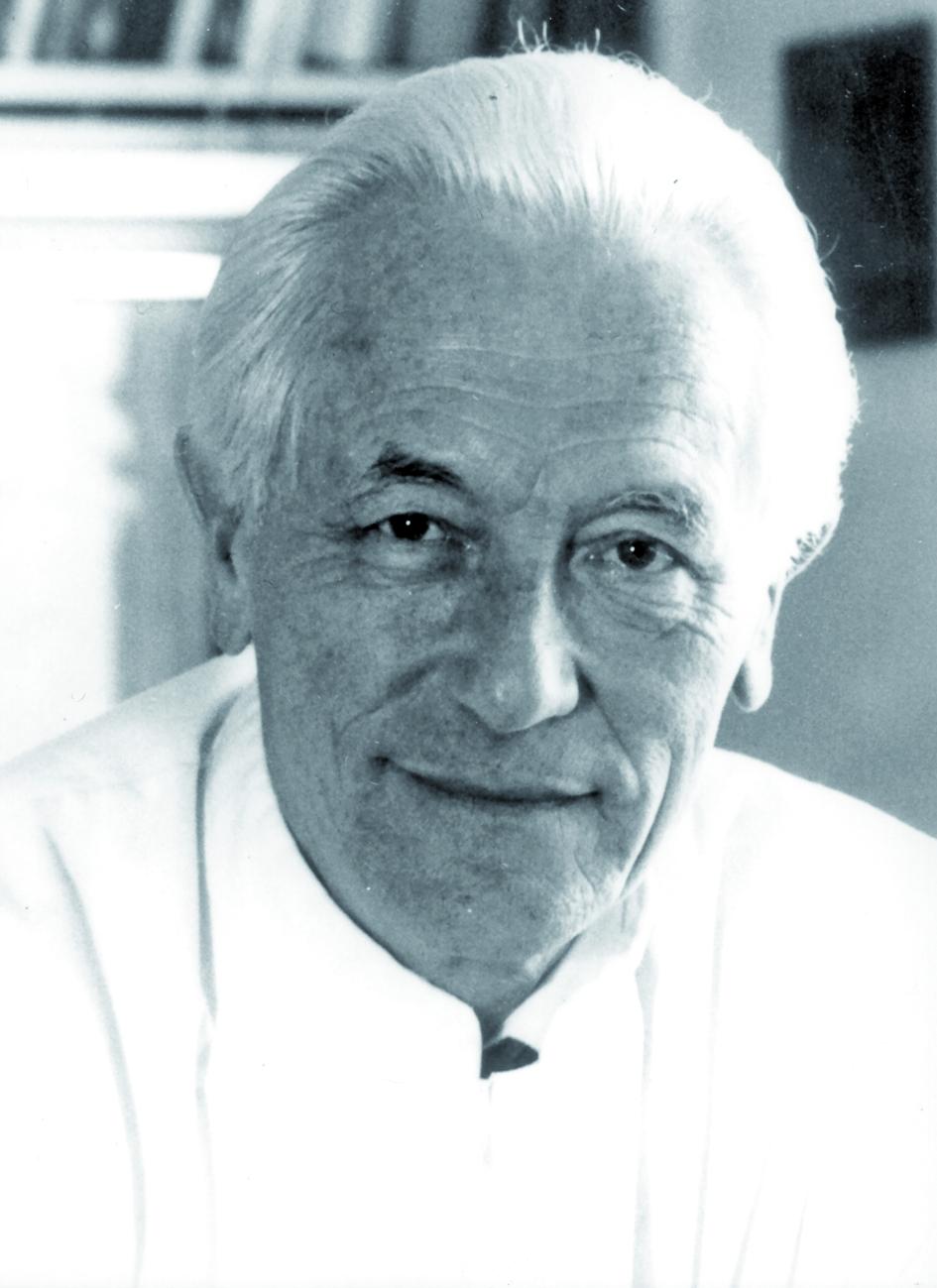 Portraitfoto von Herrn Gerd Friedmann.