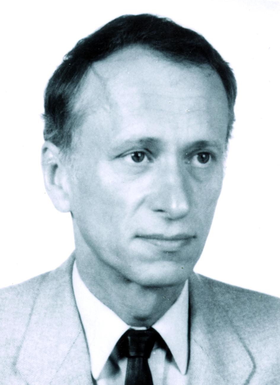 Portraitfoto von Herrn Manfred Paul Hentschel.