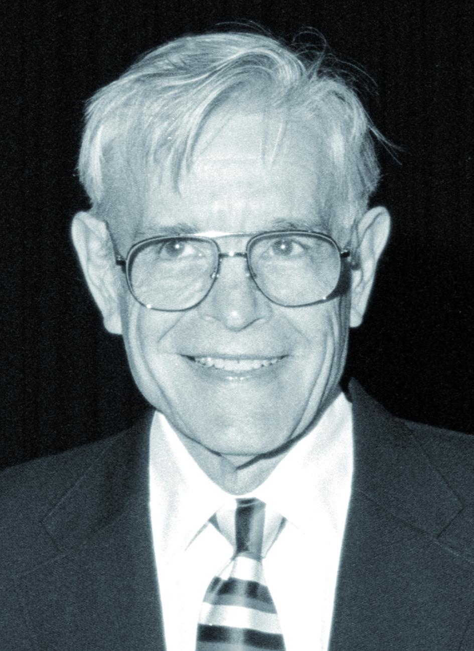 Portraitfoto von Herrn Herman D. Suit.
