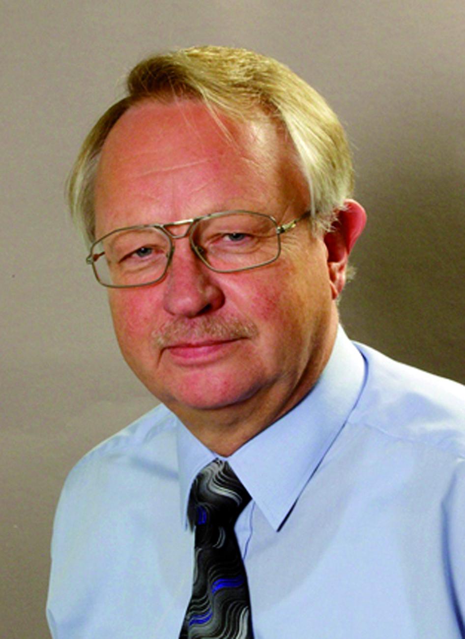 Portraitfoto von Herrn Sigurd Hofmann.