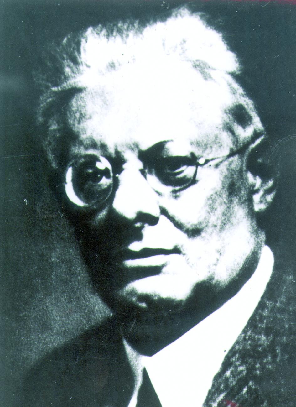 Portraitfoto von Herrn Janus Friedrich.
