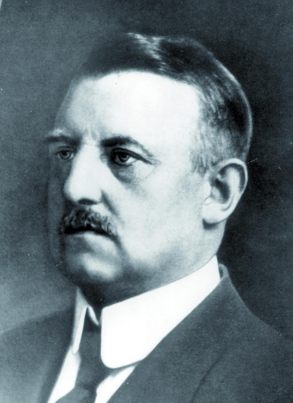 Portraitfoto von Herrn Hans Meyer.