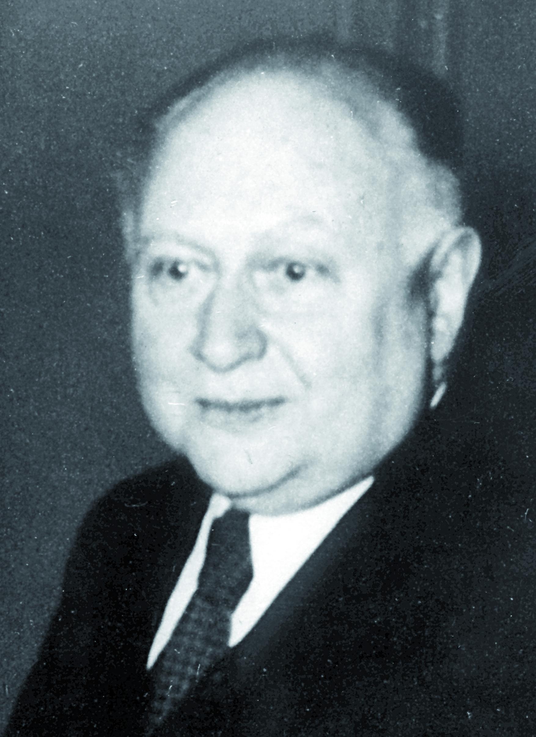 Portraitfoto von Herrn Hans Theodor Schreus.