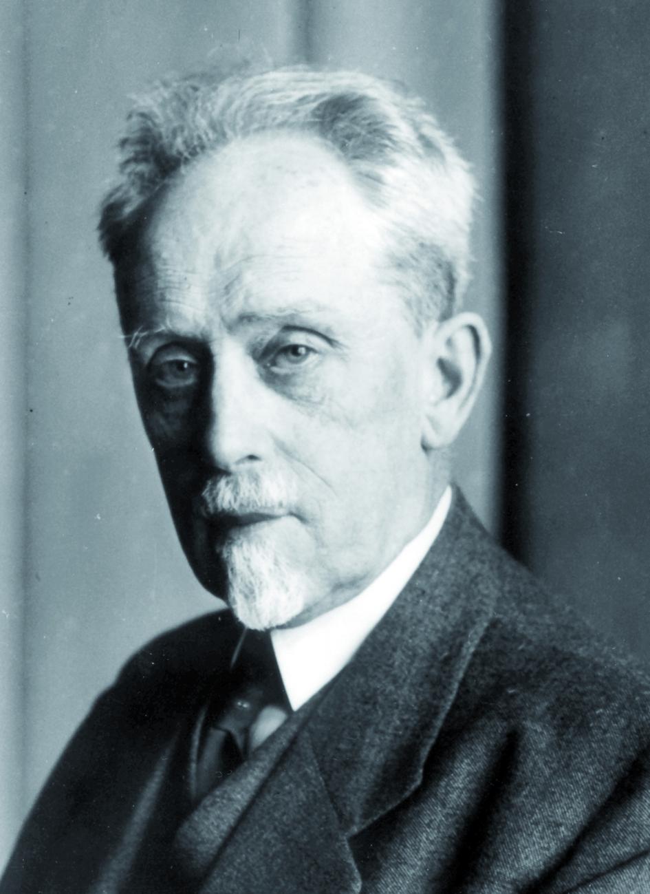 Portraitfoto von Herrn Hugo Seemann.
