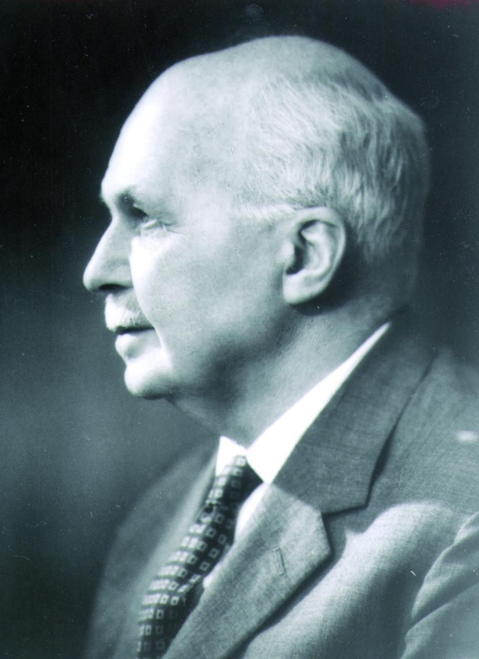 Portraitfoto von Herrn Sir Wilhelm Lawrence Bragg.