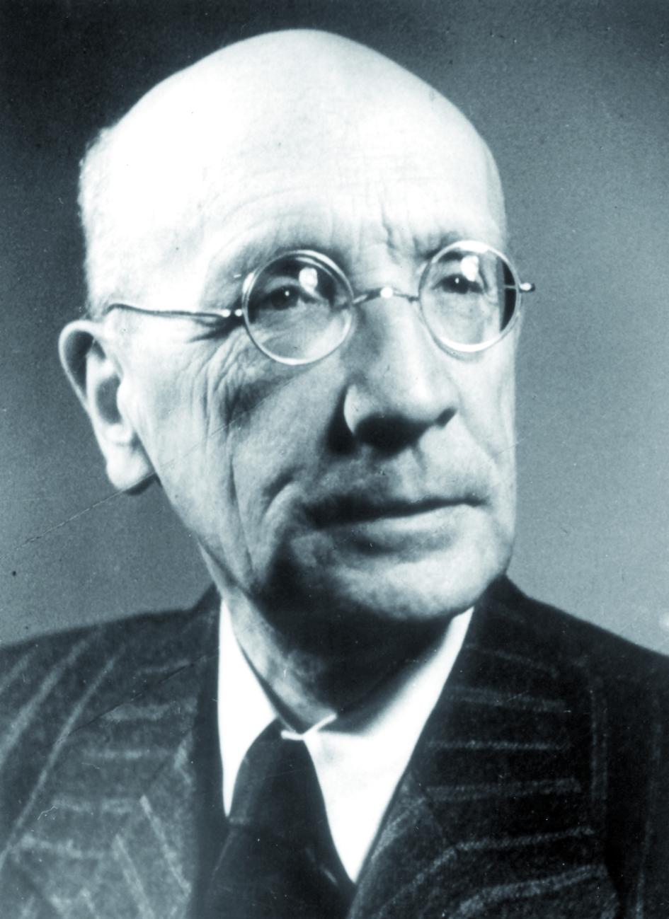 Portraitfoto von Herrn Walter Kossel.