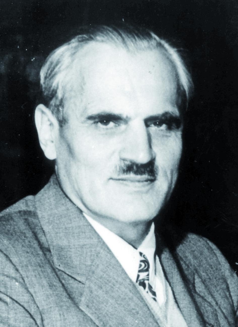 Portraitfoto von Herrn Sir Arthur Holly Compton.
