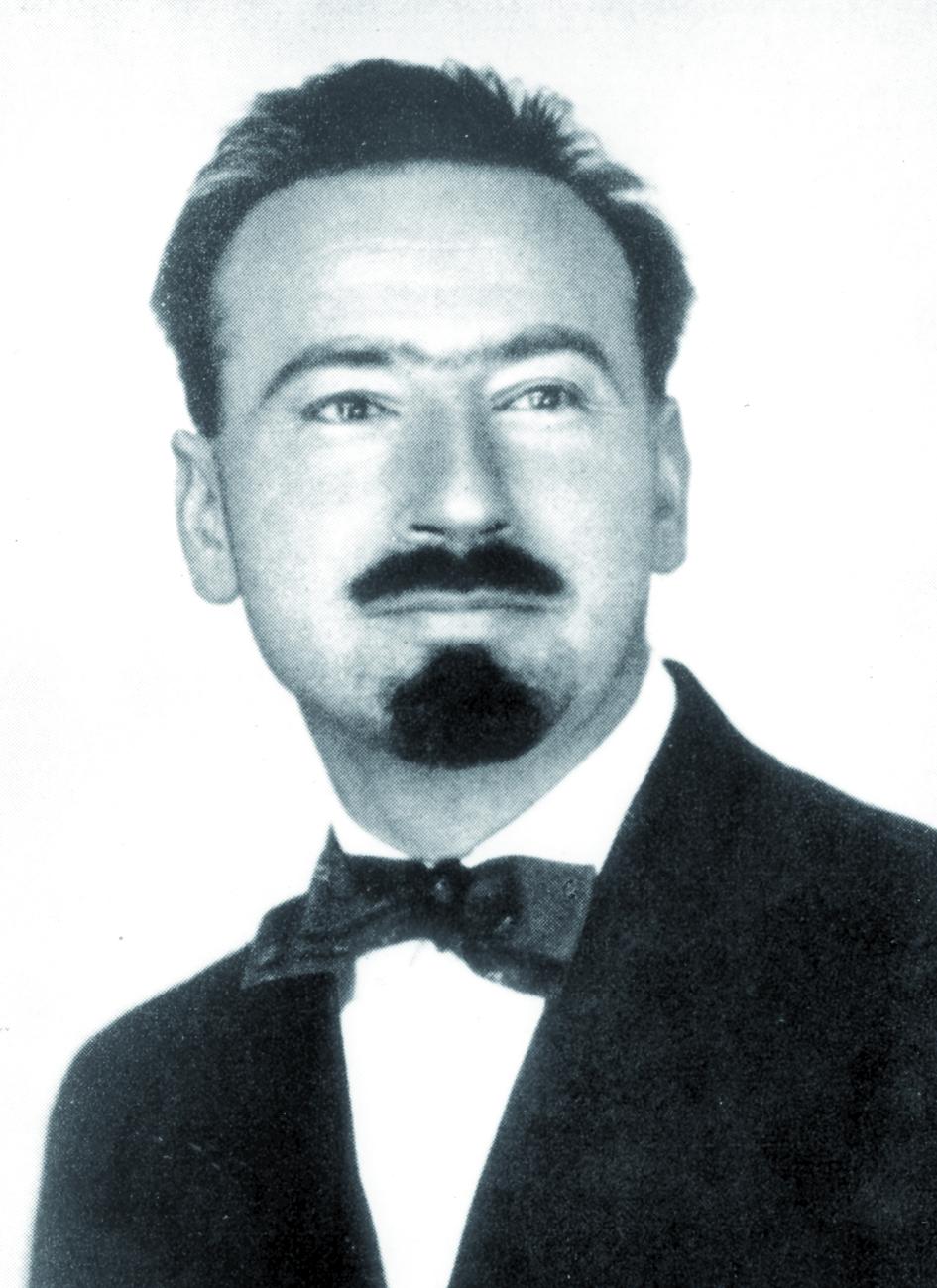 Portraitfoto von Herrn Antoine Lacassagne.