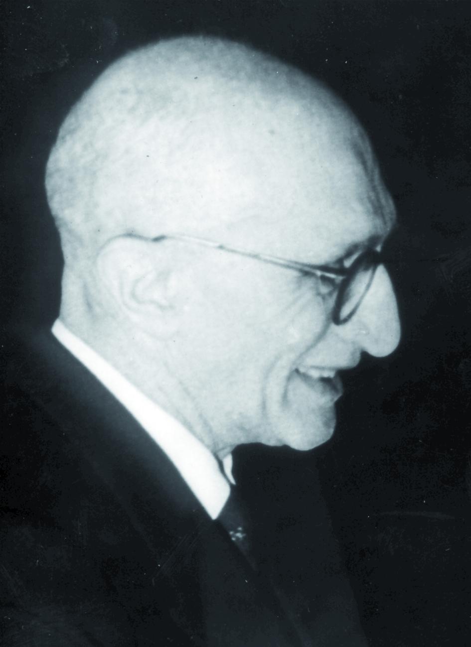 Portraitfoto von Herrn Gian Guiseppe Palmieri.