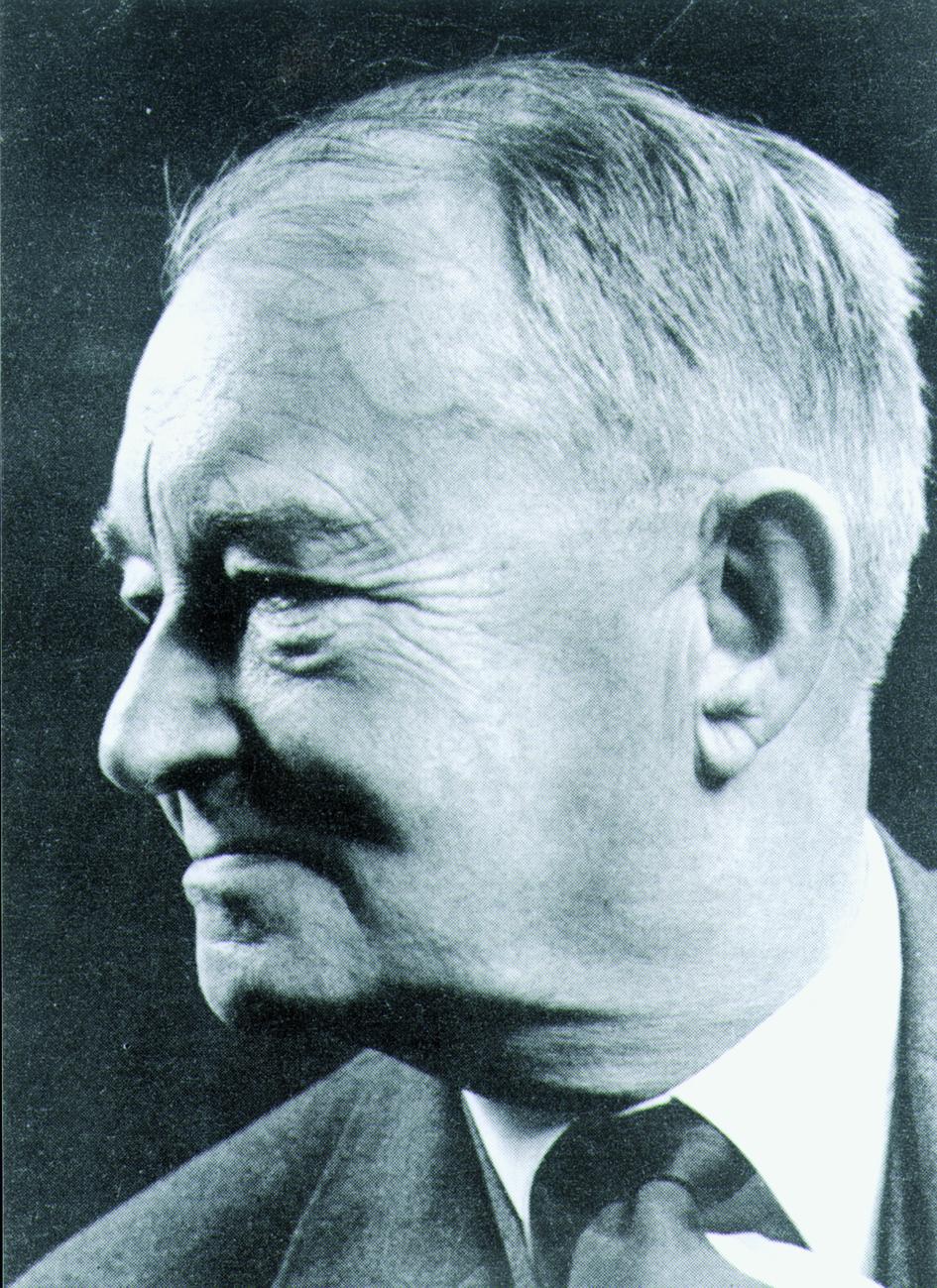 Portraitfoto von Herrn Hans Rudolf Schinz.