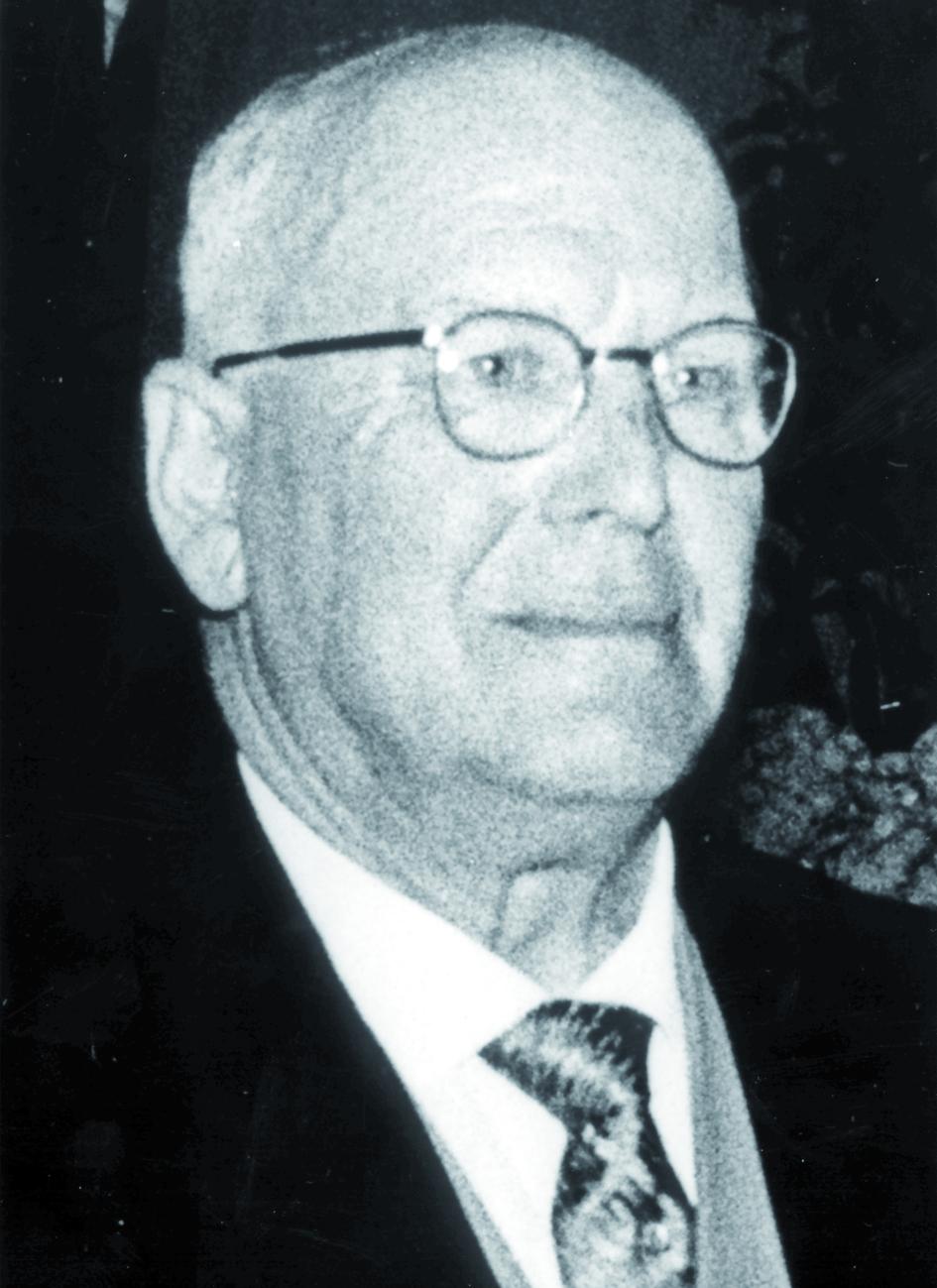Portraitfoto von Herrn Heinrich Franke.