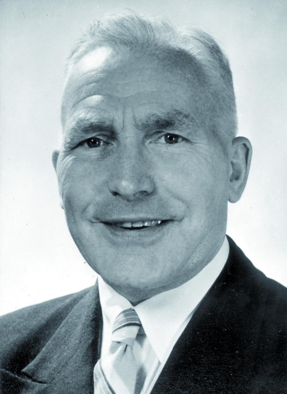 Portraitfoto von Herrn Gerardus Jacobus van der Plaats.