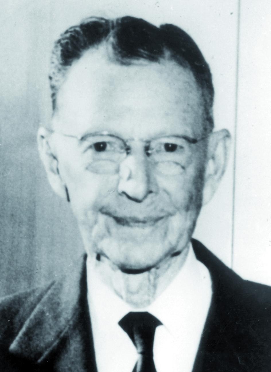 Portraitfoto von Herrn William David Coolidge.