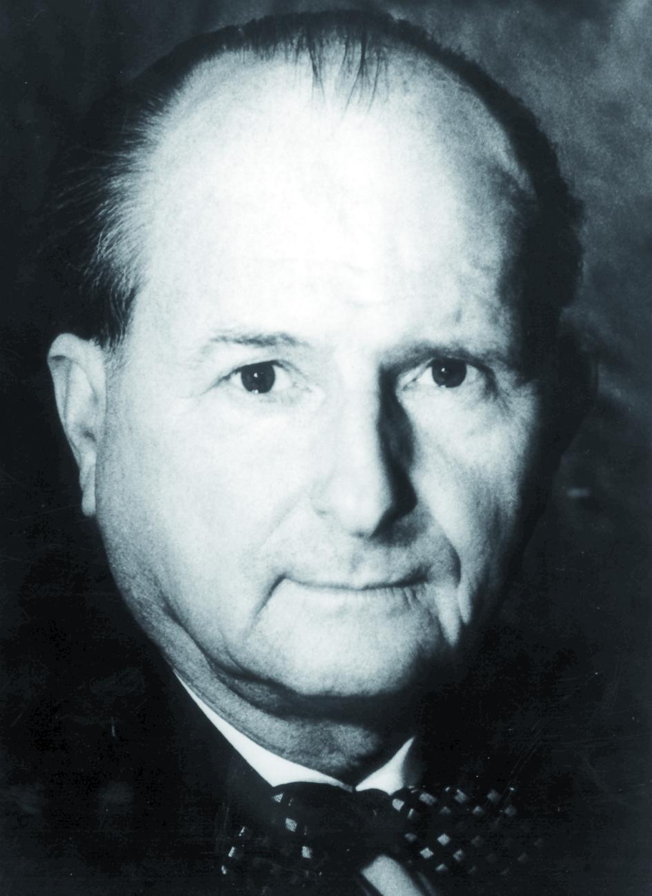 Portraitfoto von Herrn Robert Prévot.