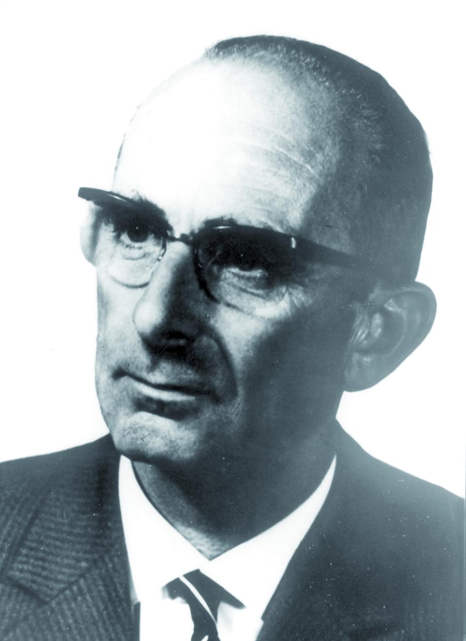 Portraitfoto von Herrn Rolf Wideröe.